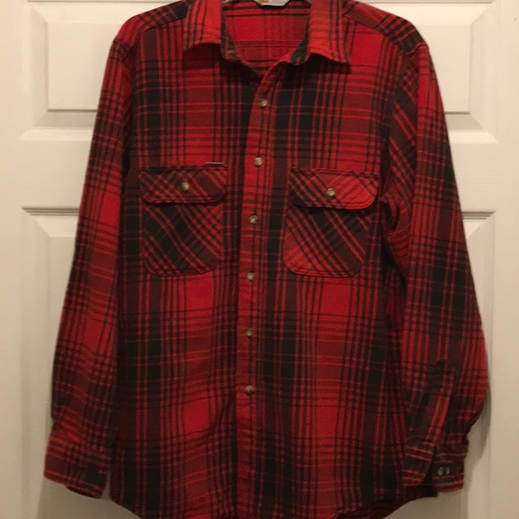 Carhartt Other - Men's Carhartt  flannel shirt in red and black